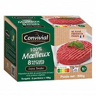 Convivial moelleux au boeuf d'Auvergne 15% mg 8X100g