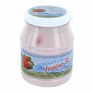 Boille 500g moleson brassé fraise 3.30%mg/pt