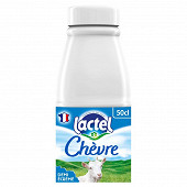 Lactel lait de chèvre demi-écrémé uht bouteille 50cl