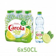 Carola pétillante citron vert pet 6x50cl