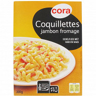 Cora coquillettes jambon fromage 300g