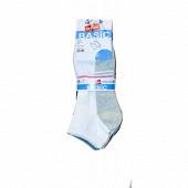 Lot de 5 paires de socquettes invisibles fantaisies Influx basic SPORT 37\41