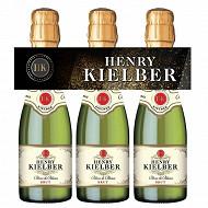 Henry Kielber mousseaux brut 3x20cl 11% Vol.