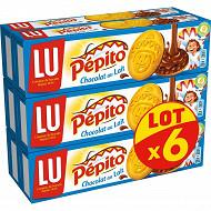 Pepito chocolat au lait lot x6 1.192kg