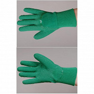 Gants rosier latex naturel sur support coton taille 10