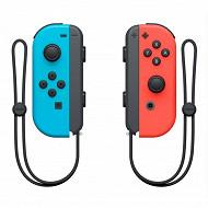 Paire de joy con bleu/rouge néon switch