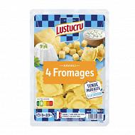 Lustucru ravioli 4 fromages 305g