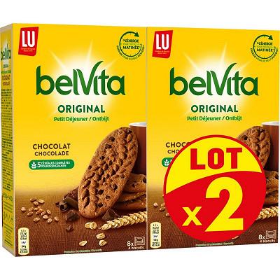 LU Belvita chocolat x2 800g