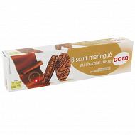 Cora biscuit meringue au chocolat suisse 100g