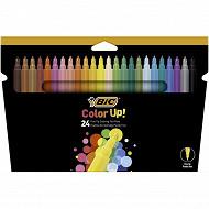 Feutres de coloriage Bic intensity pochette de 24