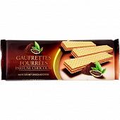 Gaufrettes fourrées chocolat 175g