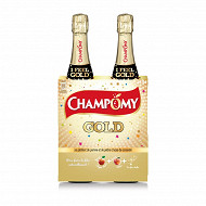 Champomy gold bouteille 2x75cl