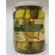 Polonia cornichons club sandwich 680g