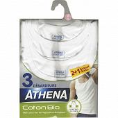 Débardeurs lot de 2+1 offert Athena 301 BLANC T3