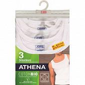 Débardeurs lot de 2+1 offert Athena 301 BLANC T2