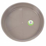 Riviera soucoupe diamètre 16.5 cm taupe