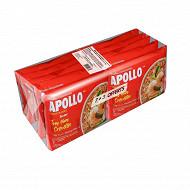 Apollo nouilles saveur fruits de mer 7+3 soit 850g ile maurice