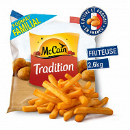 Mccain frites tradition 2.6kg