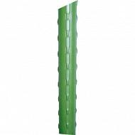 Tuteur acier plastifié 0.60m vert à l'unité