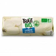 BUCHE AU LAIT DE CHEVRE BIOLOGIQUE PASTEURISE 150G