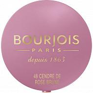 Bourjois blush boite ronde 048 cendre rose brune 2.5gr