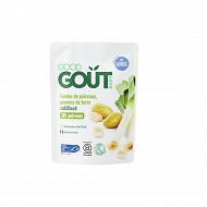 Good gout fondue de poireaux pommes de terre cabillaud 190g dès 6 mois