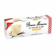 Bonne Maman semoule au lait vanille naturelle 8x100g format gourmand