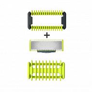 Philips kit lame+sabot+grille pour tondeuse barbe oneblade QP610/55