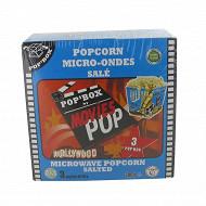 Pop'box popcorn micro ondes 300g