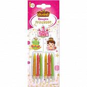 Vahiné bougies princesse / pirates