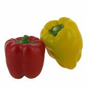 Poivron bicolore bio barquette 2 fruits