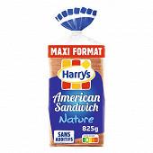 Harrys pain de mie american sandwich nature maxi 825g