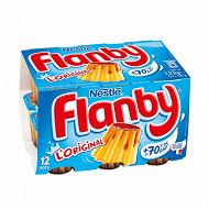 Flanby vanille nappage caramel 12x100g