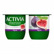 Activia bifidus fruits figues 4x125g