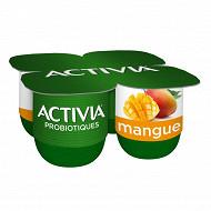 Activia bifidus fruit mangue 4x125g