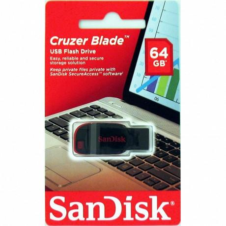 SanDisk Clé usb 2.0 cruzer blade 64 gb SDCZ50-064G-B35