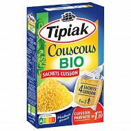 Tipiak couscous bio sachets cuisson 4x100 g