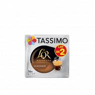 Tassimo L'or café dosettes espresso classique 2x16 208g