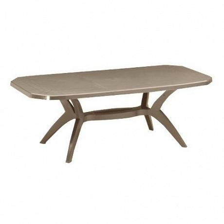 Grosfillex table ibiza taupe 2200x1000x720 cm