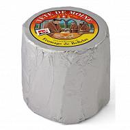 Tête de moine sous aluminium  aop suisse  lait cru de vache