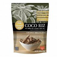 Happy riz biscuit de riz au jasmin et lait de coco 100g