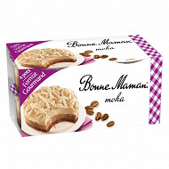 Bonne Maman moka 4x100g format gourmand