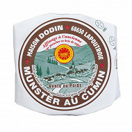 Munster au cumin AOP -affinage à l'ancienne