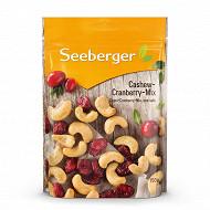 Seeberger mix cajou-cranberry 150g
