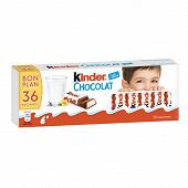 Kinder chocolat t12 lot de 3 450g