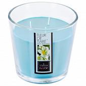 Bougie verre parfumée fleur de tiaré 500g
