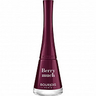 Bourjois vernis à ongles 1 seconde 07 berry much 9ml