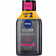Nivea visage biphase micellaire WP lot x2 400ml
