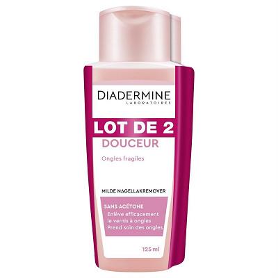 Diadermine Diadermine dissolvant douceur lot de 2x125ml