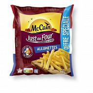 Mccain frites just au four allumettes 910g